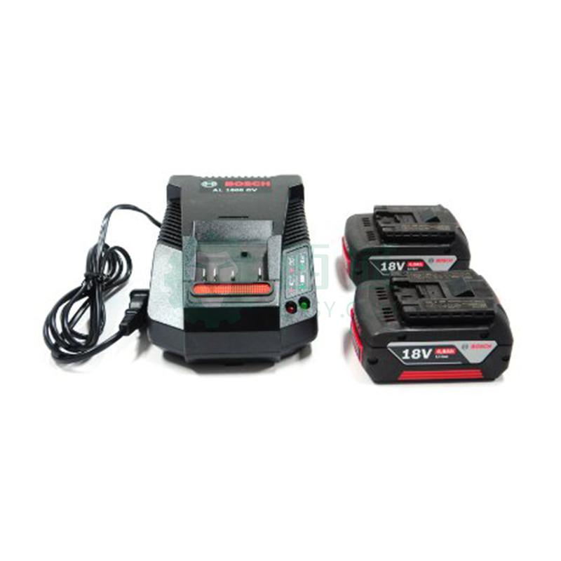 博世电池套装,2电1充套装18V/4.0Ah