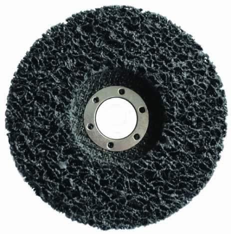 尼龙清洁拉丝研磨轮(玻纤盖板式)