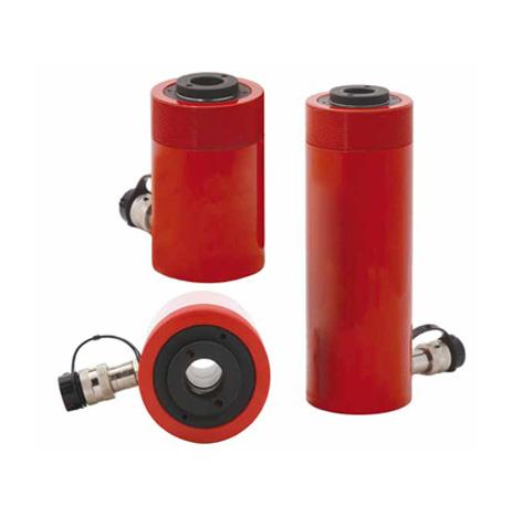 单作用中空式液压缸