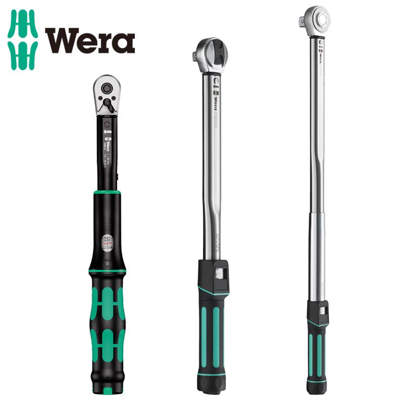 德国维拉Wera进口预置式可调扭力扳手1-400N.m 公斤板子 力矩扳手