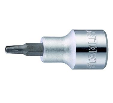史丹利STANLEY手工具 › 机工类工具 ›12.5MM系列中孔花形旋具套筒
