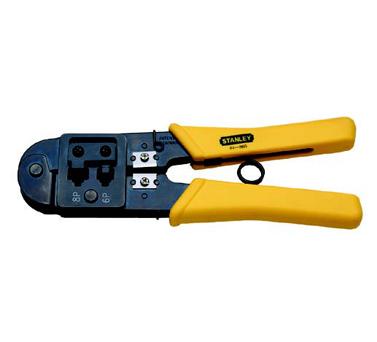 史丹利STANLEY手工具 › 电子电工类工具 › 电讯接头压接钳6P/8P 200mm
