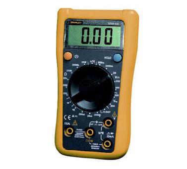 史丹利STANLEY手工具 › 电子电工类工具 ›掌上型数字万用表